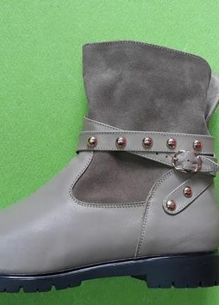 Продам кожаные весенние ботинки. размеры 40, 41.