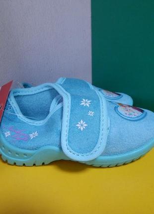 Детские тапочки disney frozen4 фото