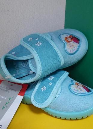 Детские тапочки disney frozen5 фото