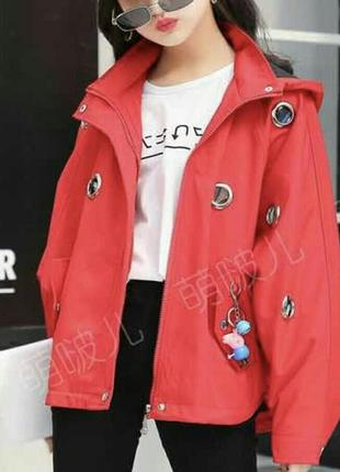 Очень стильная куртка ветровка для девочки