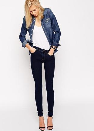 Темно-синие джинсы скинни от tally weijl, p.s