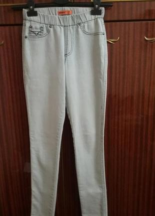 Классные джинсы# джеггинсы от denim co, p. s/8