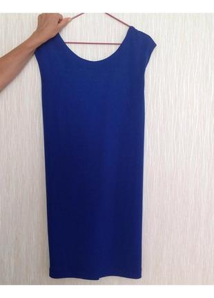 Платье zara цвета индиго, размер s
