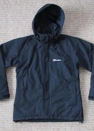 Berghaus aq2 женская утепленная куртка штормовка оригинал (s - 10) сост.идеал