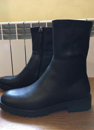Демисезонные ботинки сапожки полусапожки zara 37 размер