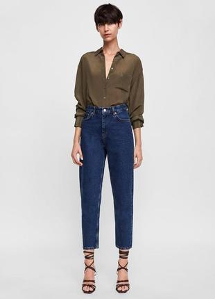 Классические mom jeans от zara