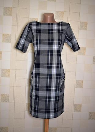 Платье в модную клетку dorothy perkins