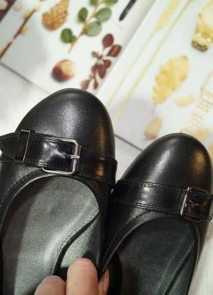 Navy boot. оригинал. кожа. фирменные туфли на низком ходу2 фото
