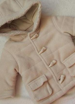 Big sale! новое демисезонное еврозима пальто куртка george на 0-3 мес большемерит