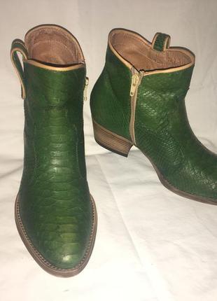 Ексклюзив ботинки кожа германия р.39 ( 25.50 см)