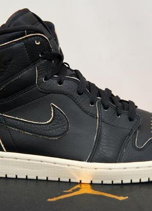 Баскетбольный кроссовки nike air jordan 1 retro high premium (оригинал)