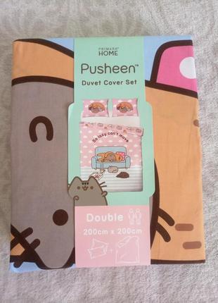 Постельный комплект pusheen primark