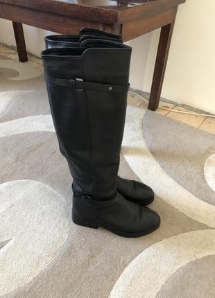Зимові чоботи-ботфорти