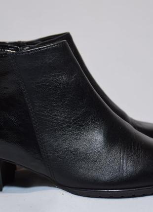 Ботинки ботильоны ara кожаные. португалия. оригинал. 37 р./ 23.5 см.