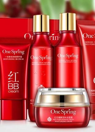 Набор one spring red pomegranate гранат