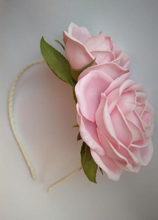 Ободок нежность роз