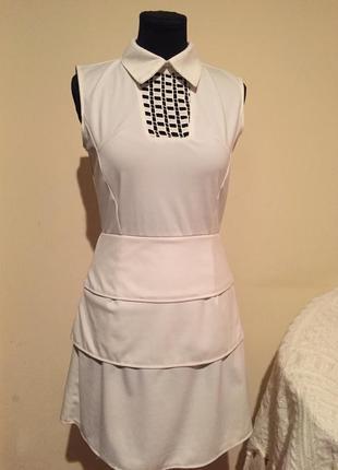 Дизайнерское платье необычного кроя от victoria beckham