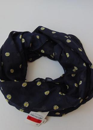 Весенний шарф хомут снуд мячи c&a германия