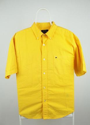 Яркая рубашка тенниска от дорогого бренда polo ralph lauren размер м