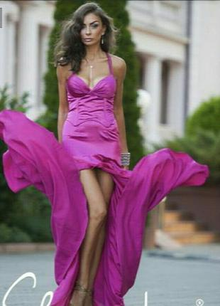 Вечернее выпускное нарядное платье slanovskiy