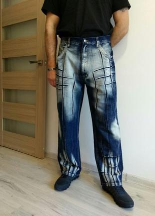 """Фирменные стильные мужские джинсы. джинсы""""варенки"""". германия. raw blue."""