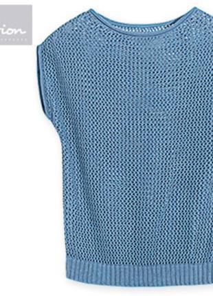 Вязаный пуловер blue motion германия, р-ры s - м