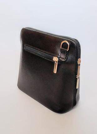 Сумочка кроссбоди сумка vera pelle клатч кожа8 фото