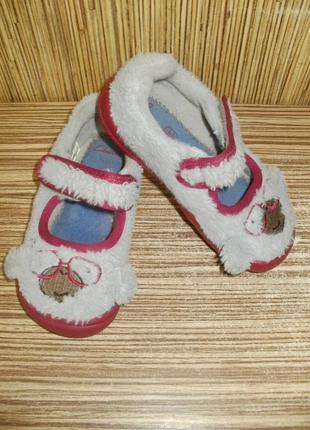 Туфельки / тапочки для садика , р. 6.5 , евро 23