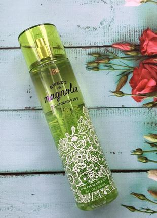 Мист для тела и волос bath and body works - sweet magnolia and clementine (сша)