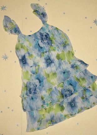 Летнее платье  италия 5-6 лет