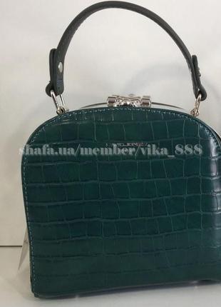 Клатч, сумка через плечо david jones 5115 зеленый