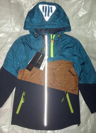 Отличная весенняя демисезонная термо куртка для мальчика