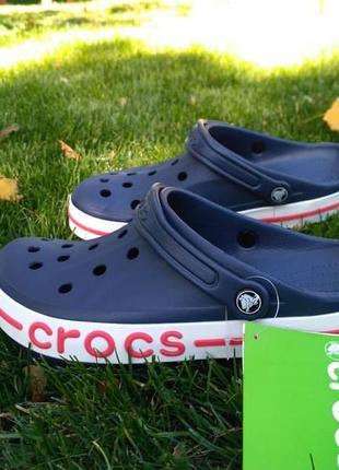 Мужские  кроксы crocs крокс bayaband clogs navi