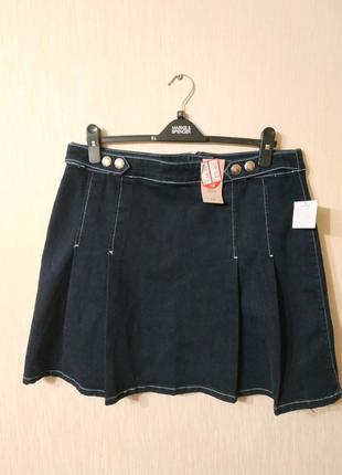Новая джинсовая юбка с биркой tu размер 16 xxl