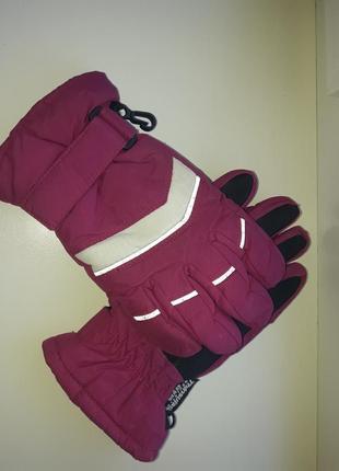 Перчатки термо девочке 8-10 лет