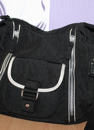 Тканевая сумка clarks по типу kipling