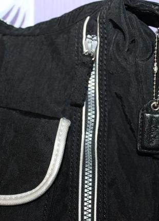 Тканевая сумка clarks по типу kipling2 фото