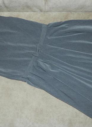 Платье сарафан детский серый школьный george на девочку 11-12 лет.