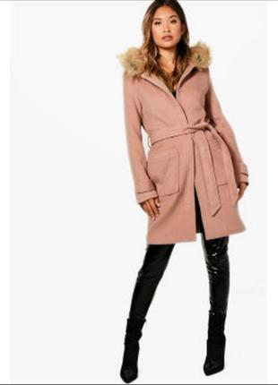 Пальто boohoo