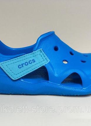 Босоножки детские  swiftwater wave ocean сандалии на мальчика крокс голубые