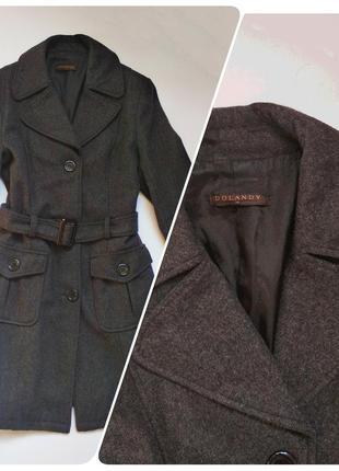 Шерстяное английское пальто dolandy
