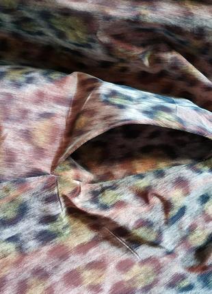 Дизайнерское платье от maria westerlind в тигровый принт с переливом5 фото