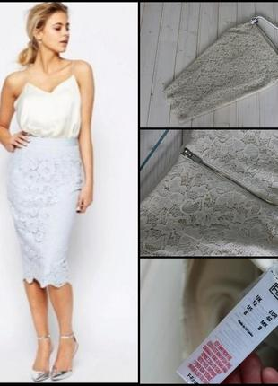 F&f.шикарная кружевная юбка.