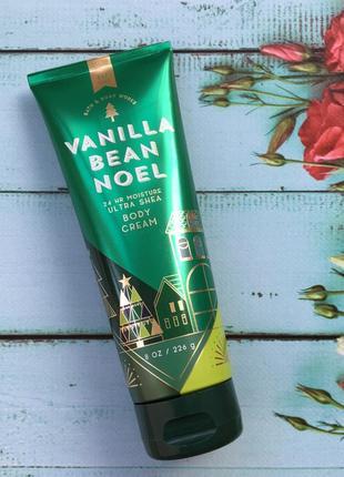 Увлажняющий крем для тела bath and body works - vanilla bean noel