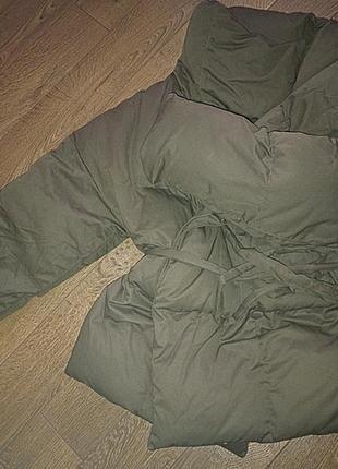 Пуховик одеяло katsurina оригинал хаки