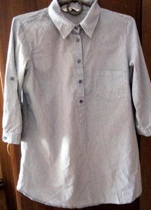 Cтильна рубашка в полосочку new look