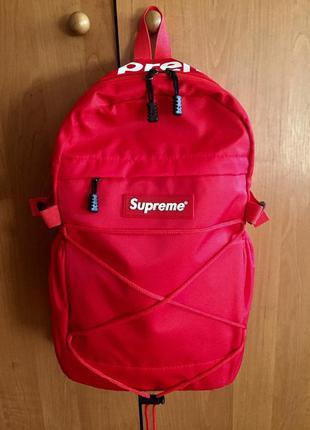 Новый рюкзак supreme