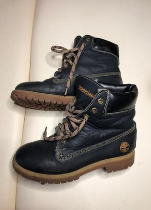 Ботинки зима timberland 38p кожа