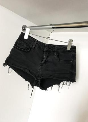 Короткие женские джинсовые летние рванки шорты с карманами мини 2019