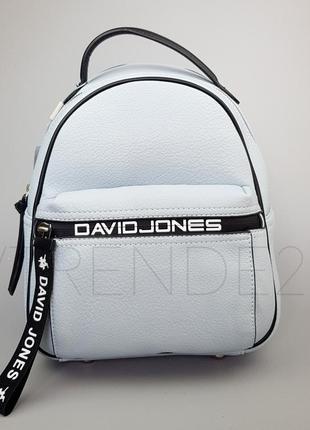 #5989-2 blue david jones стильный качественный рюкзак!